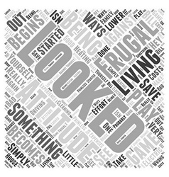 When it comes to saving money it doesn Word Cloud vector image