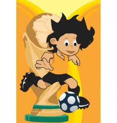 world cup vector image