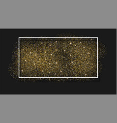 gold glitter background abstract sparkle sequin vector image vector image