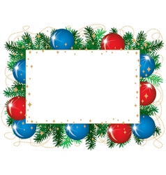 Christmas background isolated vector image vector image