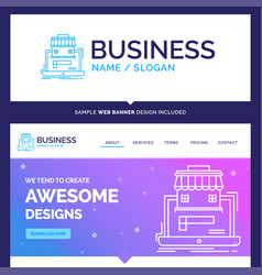 Beautiful business concept brand name business vector