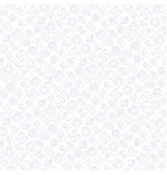 Charity and donation seamless pattern vector