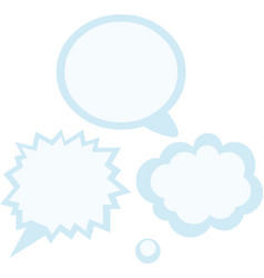 dialog vector image