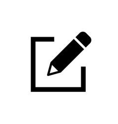 Edit icon pencil icon sign up icon vector