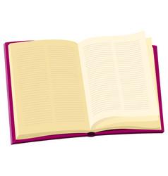 Encyclopedia book vector