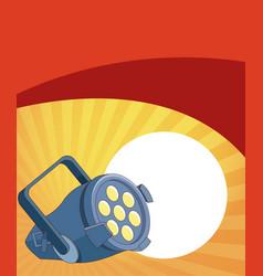 entertainment show concept vector image