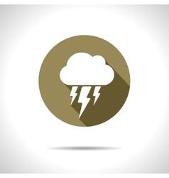 flash icon Eps10 vector image