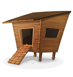 hen house vector image