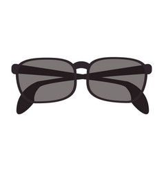 isolate sunglasses icon image vector image