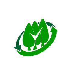 landscaping care taking logo design template vector image
