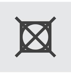 No washing icon vector