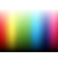 Rainbow gradient background vector image