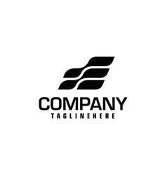Speed letter initial e logo design template vector