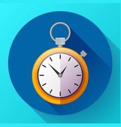 stopwatch icon symbol race vector image