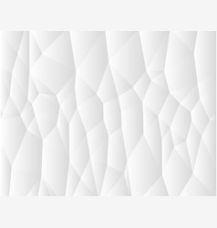 white and gray geometric background vector image