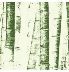 bamboo grunge vector image