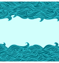 Seamless Abstract Waves vector image