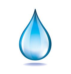 Object water drop vector