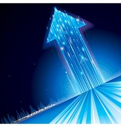 Growth Technology Arrow vector image vector image