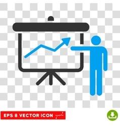 Project Presentation Eps Icon vector image vector image