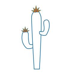 cactus icon image vector image