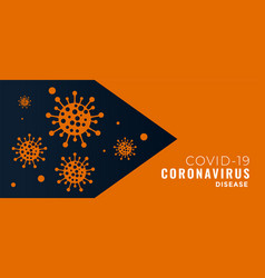 Covid-19 pandemic novel coronavirus concept vector