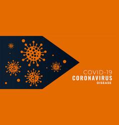 Covid19-19 pandemic novel coronavirus concept vector
