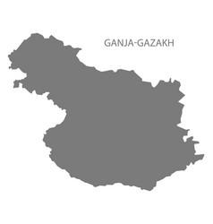 Ganja-gazakh azerbaijan grey vector