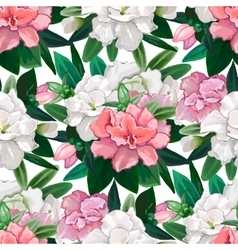 Gentle azalea pattern vector image