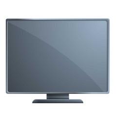 Ips monitor icon cartoon style vector
