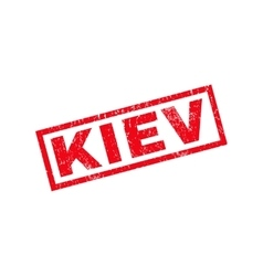 Kiev Rubber Stamp vector