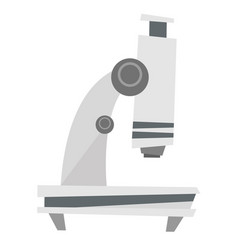 microscope cartoon vector image