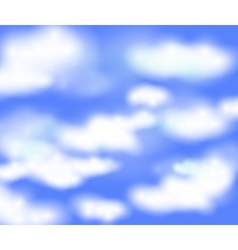 The Clouds vector image