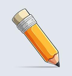 writting pencil colored pencil set crayon vector image