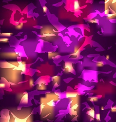 Abstract background with bright flashes vector image