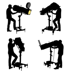 follow spot vector image vector image