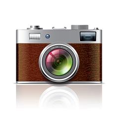 object vintage photocamera vector image