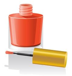 nail polish 01 vector image