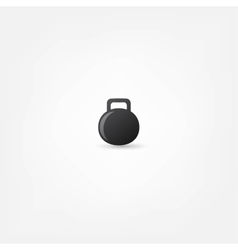 weight icon vector image vector image