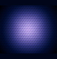 blue abstract background with metal background vector image