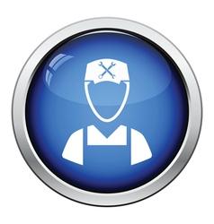 Car mechanic icon vector image