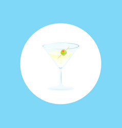 cocktail icon sign symbol vector image