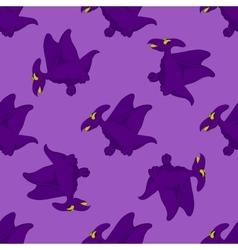Flying funny dinosaur vector image