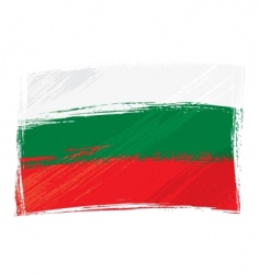 Grunge Bulgaria flag vector