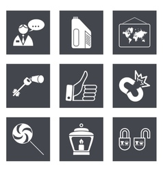 Icons for Web Design set 35 vector