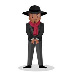 Man cartoon character vector