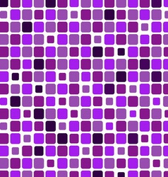 Mosaic with square violet background vector image