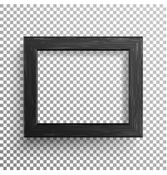 Realistic photo frame isolated on vector