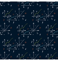 Seamless pattern with elements of geometry and vector image