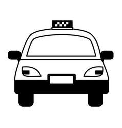 taxi vehicle service public vector image